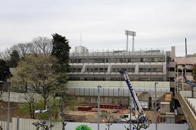 JSC本部棟の解体工事