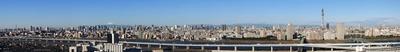 船堀からパノラマ東京