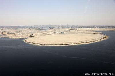 ドバイで計画されている世界一のタワーの建設地予定地