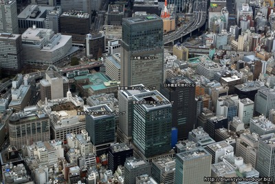 日本橋室町東地区の空撮