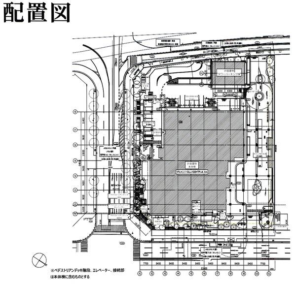 ウェスティンホテル横浜 配置図