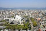 京都タワーからの眺め