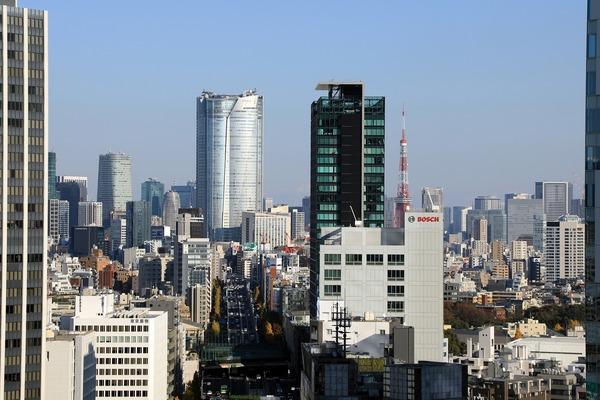 渋谷フクラスからの眺め