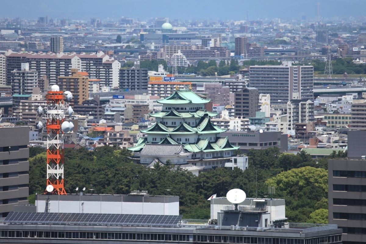 名古屋城 : 超高層マンション・超高層ビル