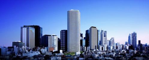 ザ・パークハウス 西新宿タワー60 完成予想図