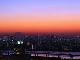 船堀トワイライト富士山-1024-768