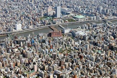 空撮 両国・蔵前・浅草橋あたり