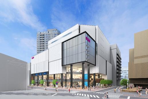 (仮称)横浜南幸地区共同建替事業 イオンモールイメージパース