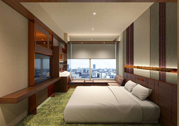 (仮称)大阪三菱ビル建替え計画 客室