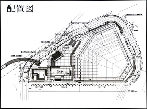 Kアリーナプロジェクト 配置図