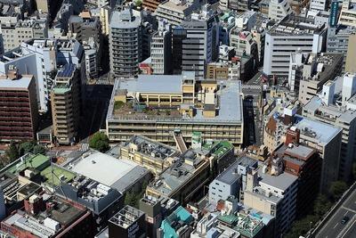 豊島旧庁舎と豊島公会堂