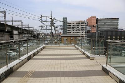高崎駅東口第九地区とペデストリアンデッキ