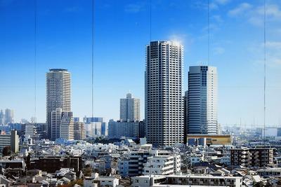 パークタワー新川崎の完成予想図