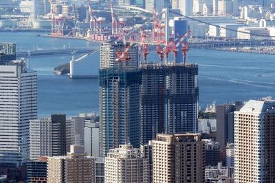 東京スカイツリーから見たキャピタルゲートプレイス