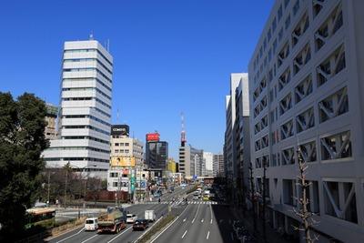 品川駅前から見た品川タワーレジデンス