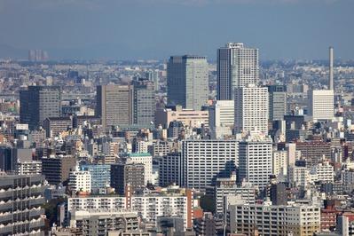 スカイリンクタワーから錦糸町方面