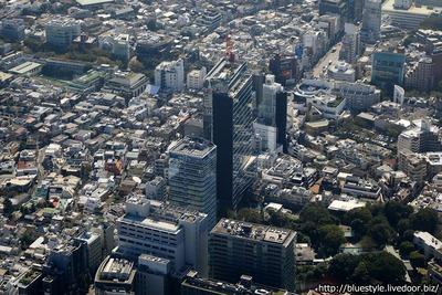 神宮前計画の空撮