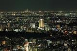 六本木ヒルズから目黒、横浜みなとみらい方面の夜景