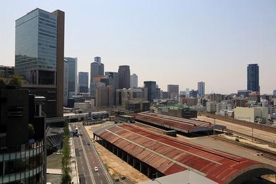 グランフロント大阪 北館からの眺め