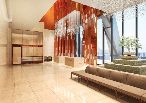 (仮称)大阪三菱ビル建替え計画 17階ホテルロビー