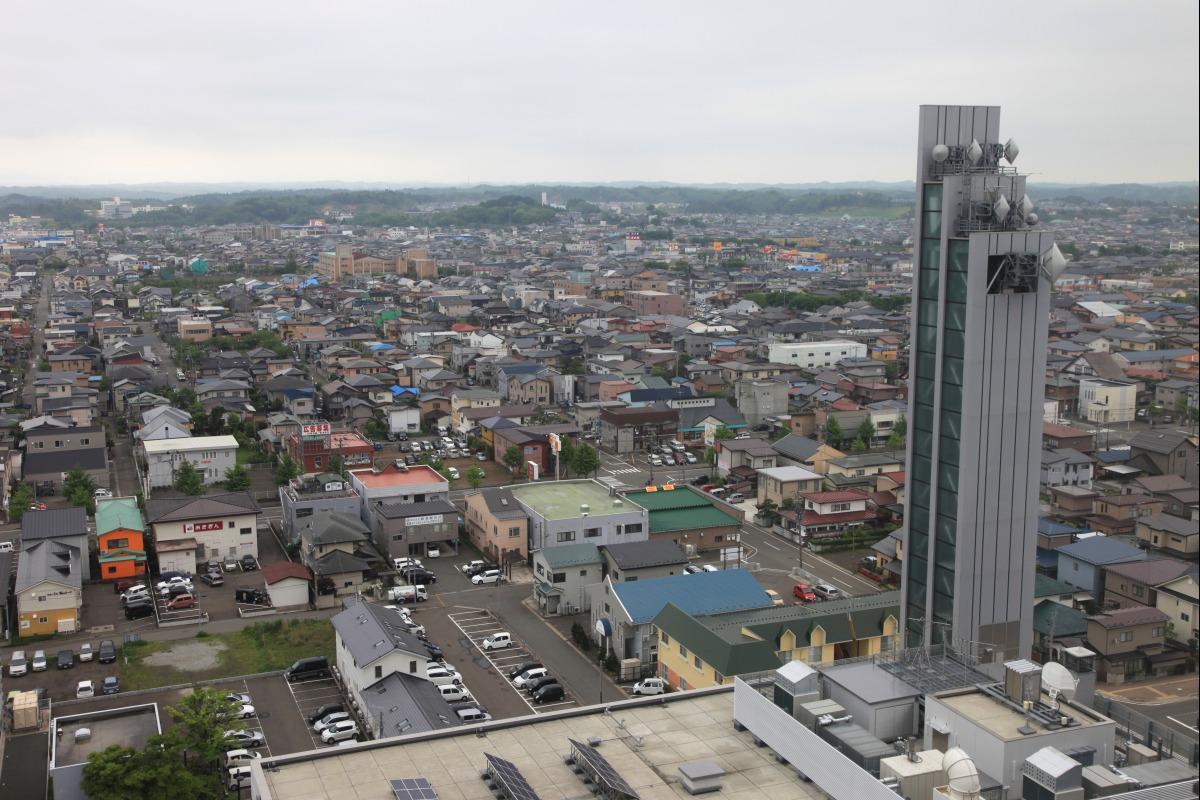 <b>秋田</b>県<b>秋田市</b> : 超高層マンション・超高層ビル