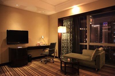 「リーデンホテル広州」の客室内