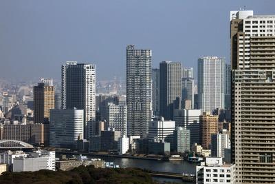 東京タワーから見た勝どきビュータワー