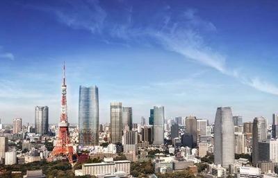 虎ノ門・麻布台地区 世界貿易センタービルからのイメージ