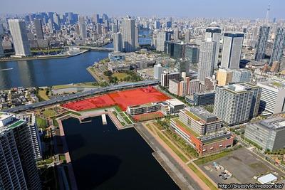 (仮称)豊洲地区1-1街区開発計画の空撮