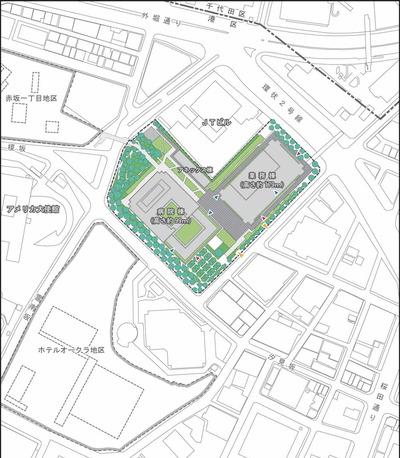 新虎の門病院 配置図