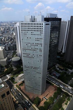 都庁から見た新宿超高層ビル群