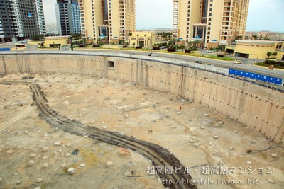 ドバイのトランプタワー建設予定地
