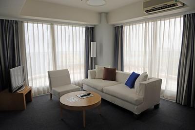 ザ・ビーチタワー沖縄の客室内