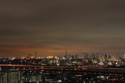 東雲方面の夜景