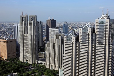 東京オペラシティタワーからの眺め
