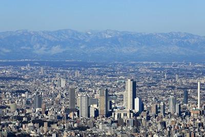 東京スカイツリーから見た池袋