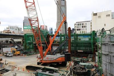 渋谷駅街区開発計画�期(東棟)