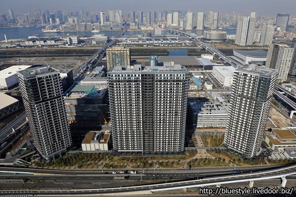 シティタワーズ東京ベイの空撮