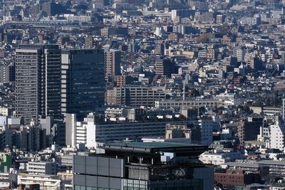都庁から見た中野ブロードウェイ