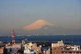 きみさらずタワーから富士山