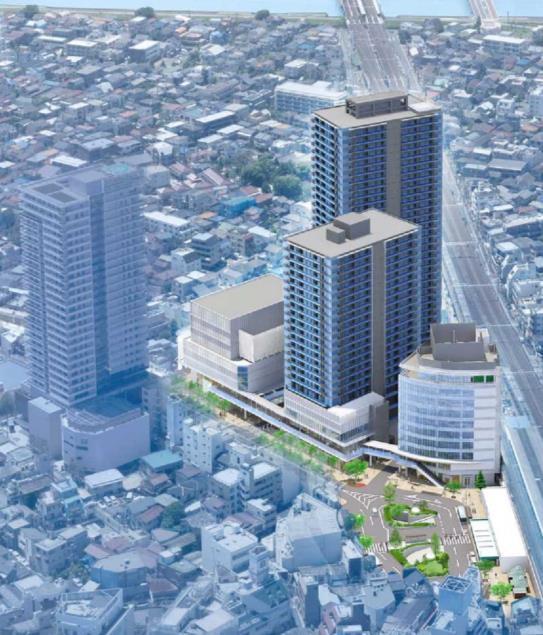 南小岩六丁目地区第一種再開発事業 イメージパース
