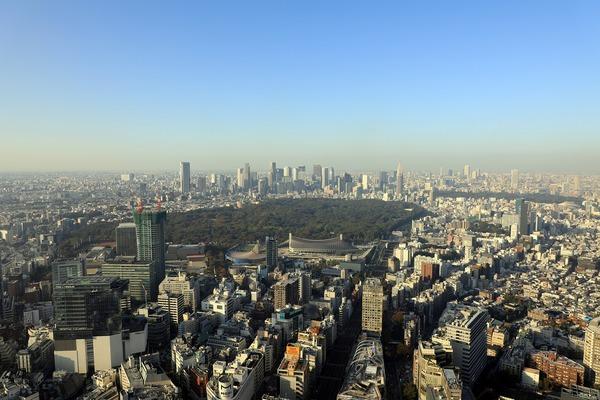 渋谷スカイからの眺め