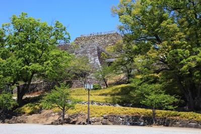 舞鶴城公園の天守台