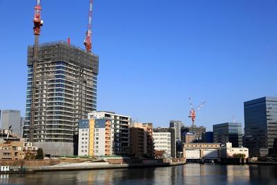 隅田川越しの景色