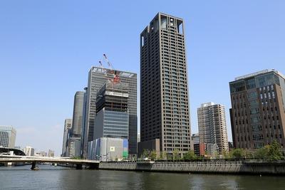 中之島の超高層ビル群