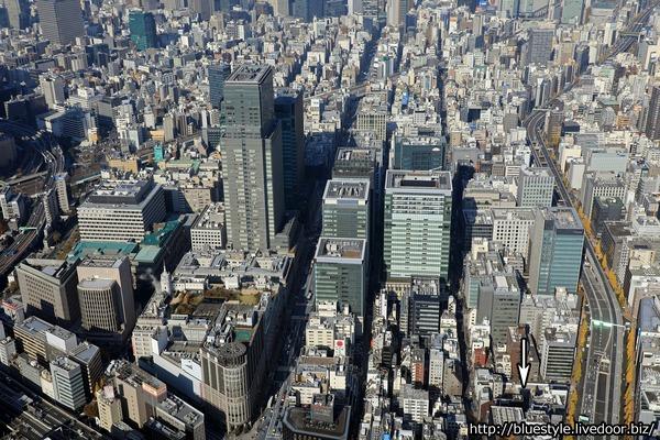 日本橋本町一丁目の木造高層建築物