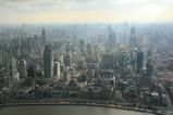 東方明珠塔からの眺め