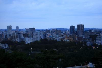 青葉城址からの眺め