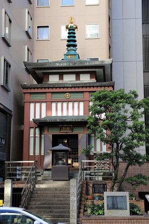 日本橋西河岸地蔵寺