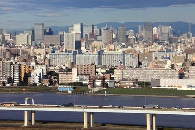 東京超高層ビル群